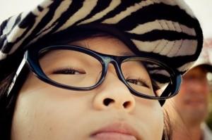 Lentes sin vidrios - Loca tendencia de la moda en Asia 1