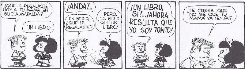 Mafalda.Regalo de un libro